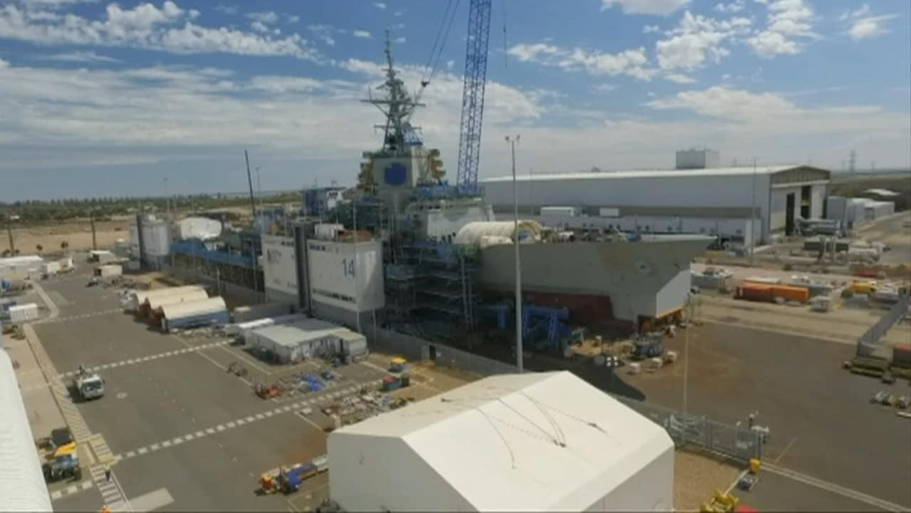 Australia's $90 billion naval shipbuilding program set to begin