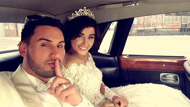 Salim Mehajer and his bride Aysha's wedding caused an uproar.