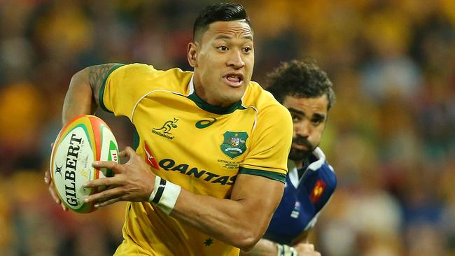 Star Wallabies fullback Israel Folau is reportedly in the sights of cashed-up French club Toulon.