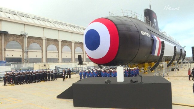 Australian submarines to be constructed by France's Naval Group