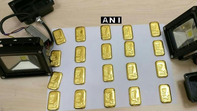 Man smuggling gold bars in his butt caught at airport in India