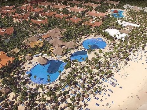 At least four American tourists have reportedly died at the Bahia Principe Resort in Punta Cana, including Yvette Monique Sport, 51, who had a drink from the hotel room minibar, went to bed and never woke up. Picture: Bahia Principe Hotels