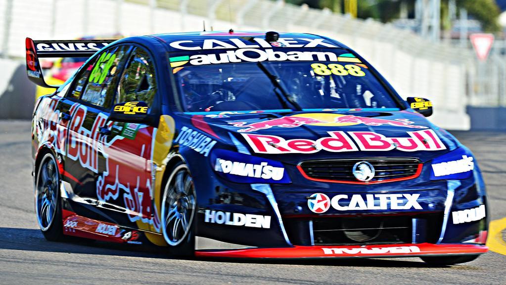 V8 Supercars Craig Lowndes 2016 Triple Eight Red Bull Racing Three