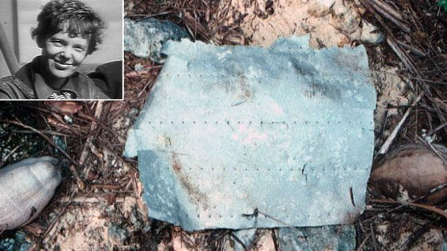 Earhart's plane found?