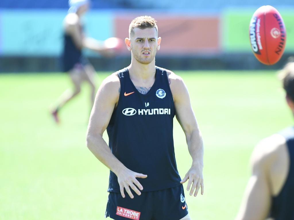 AFL BLUES TRAINING