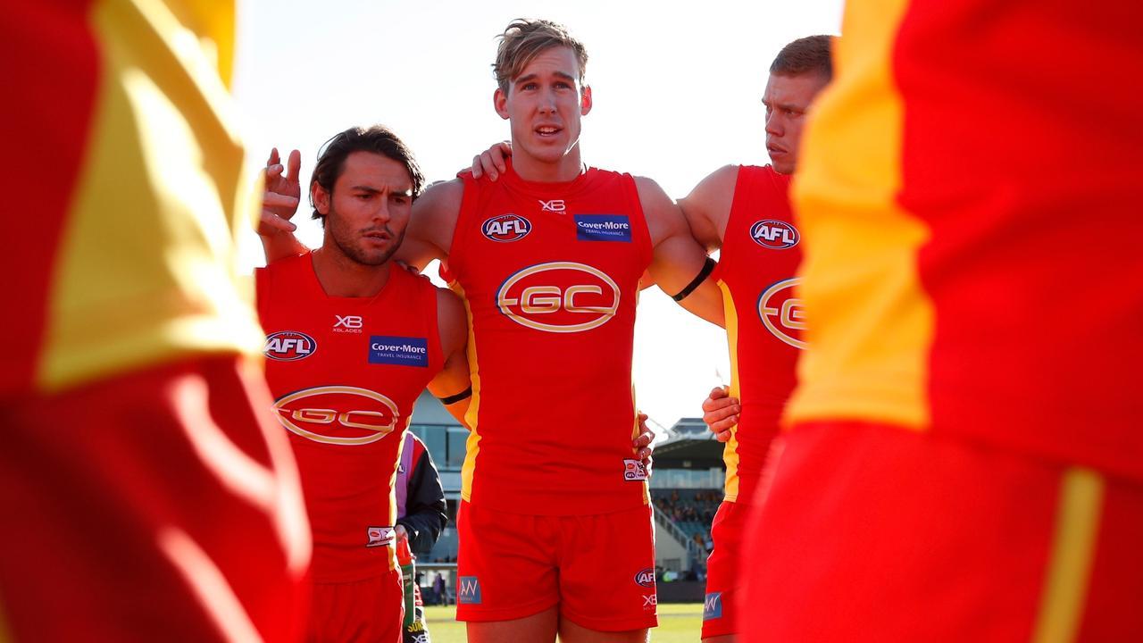 Former Gold Coast co-captain Tom Lynch.