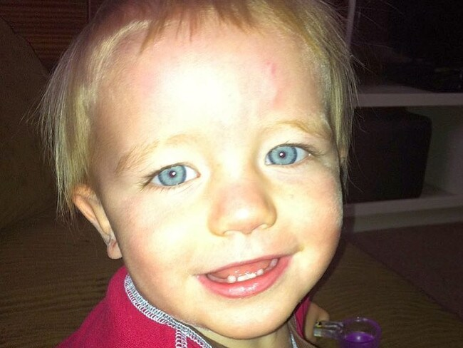 Two-year-old Ollie died after climbing into a washing machine. Picture: Tiffhebb/Instagram