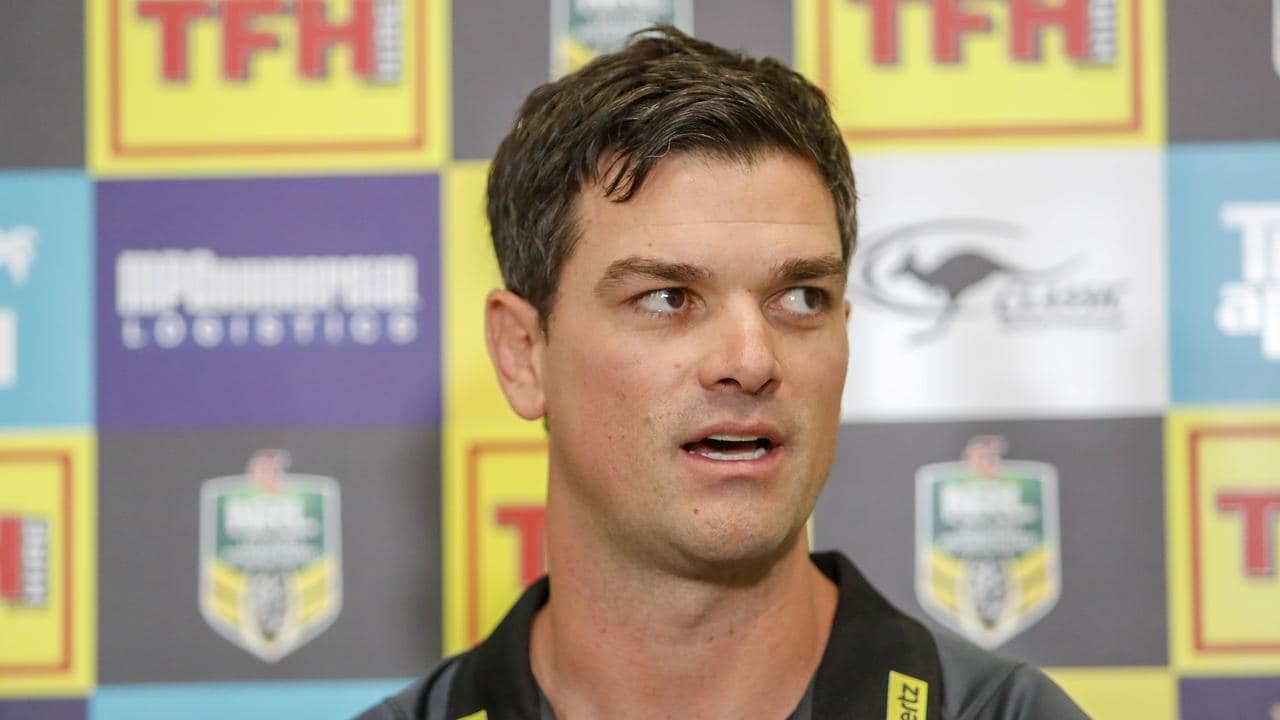 Panthers caretaker coach Cameron Ciraldo has made things clearer for the team. (AAP Image/Glenn Hunt)