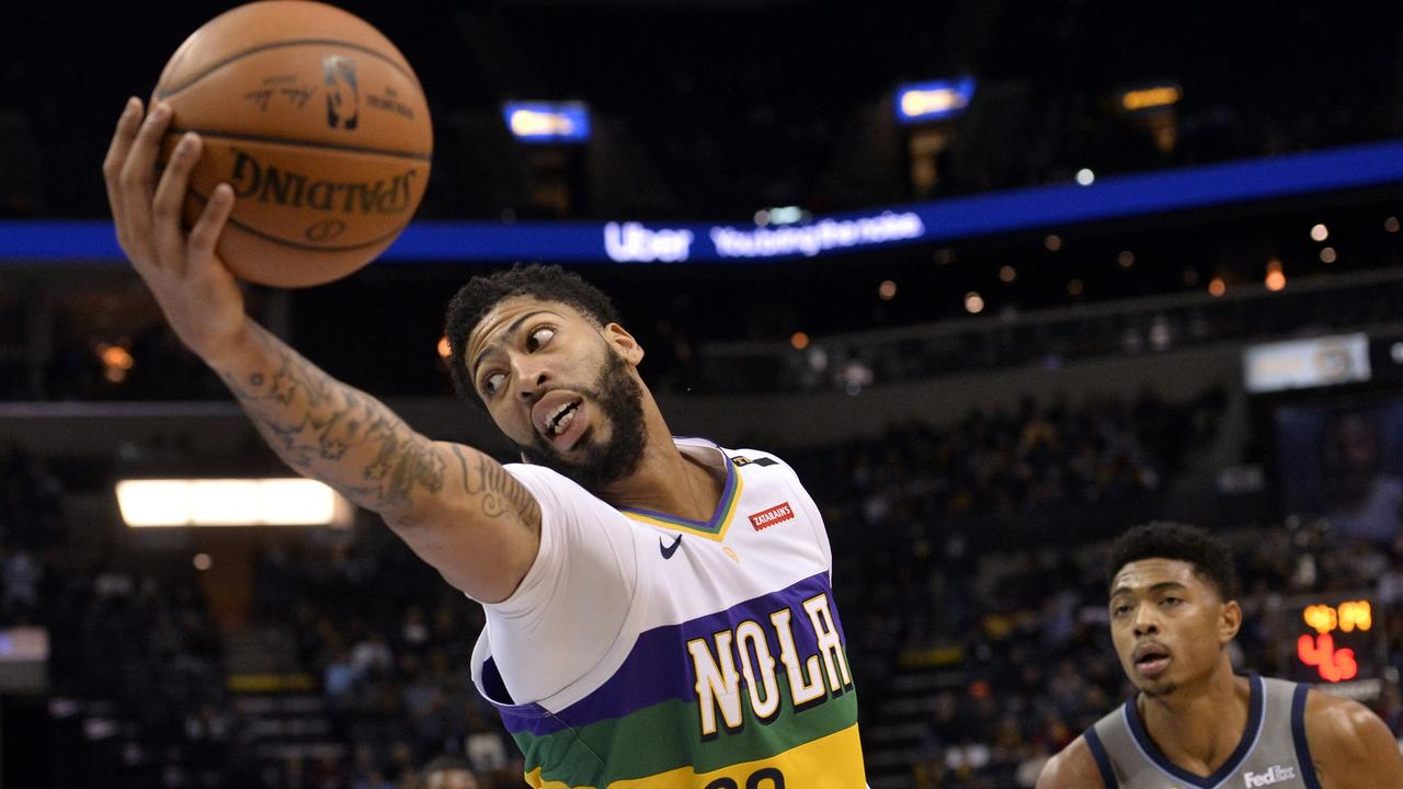 New Orleans' superstar centre Anthony Davis' future had been a source of much speculation.