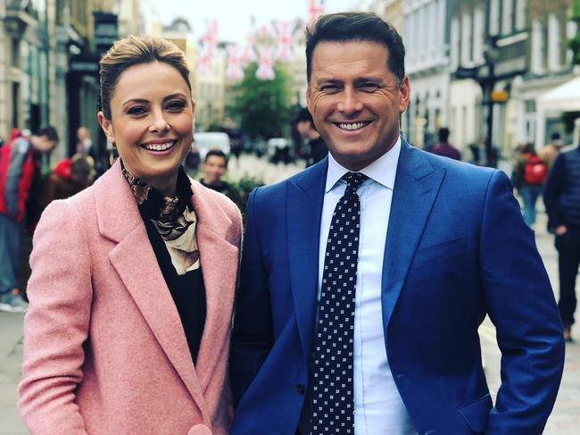 Allison Langdon and Karl Stefanovic will host Today in 2020. Picture: Instagram