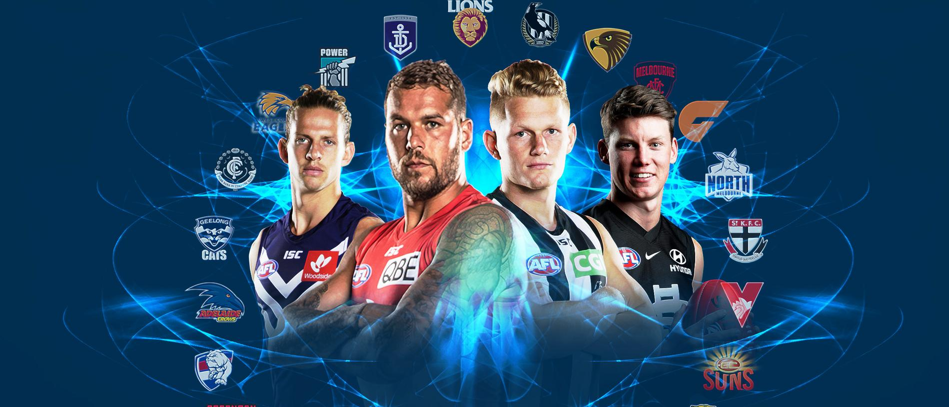 Fox Footy nominates the best 22s at every club a few months out from Round 1 of 2019.