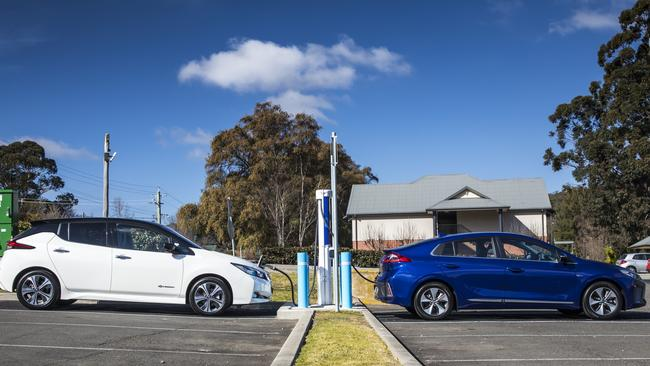 Longer trips out of the city will require a top-up or two at a fast charger.
