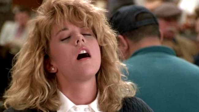 You're welcome. Image: When Harry Met Sally.