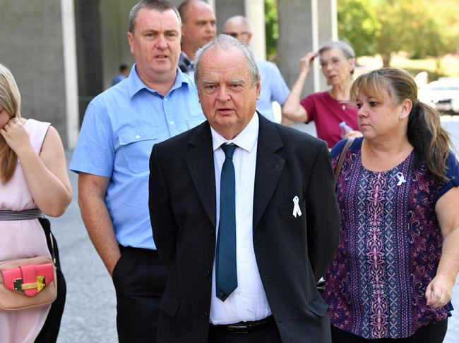 Jon Knowles, Tricia's father, fought for justice for years. Picture: Darren England