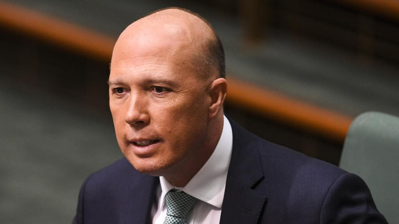 Peter Dutton. Picture: AAP