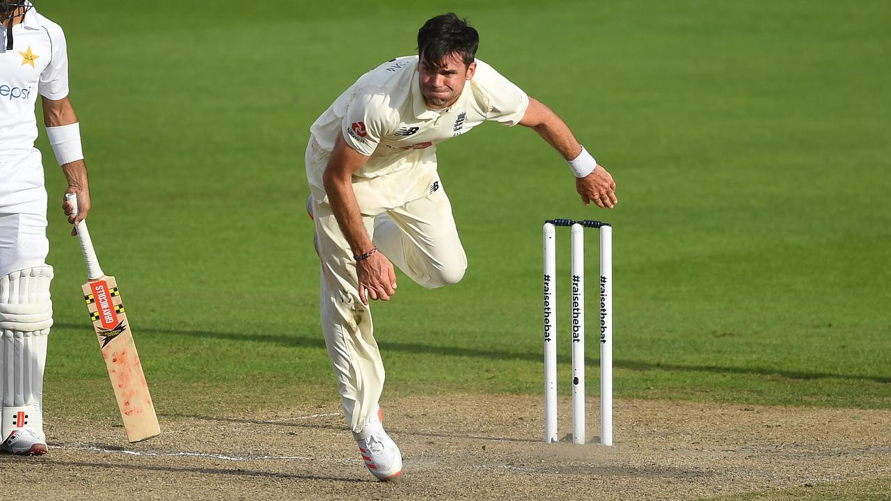 James Anderson of England is in awesome form. Picture: Gareth Copley