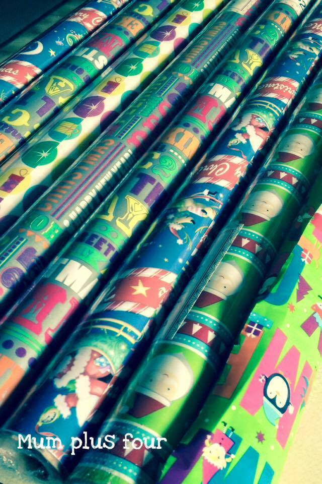 Wrapping paper bec