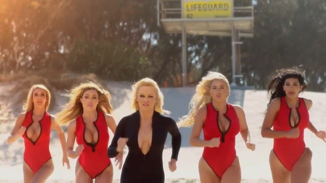 Pamela Anderson's Ultra Tune Ad made on the Gold Coast