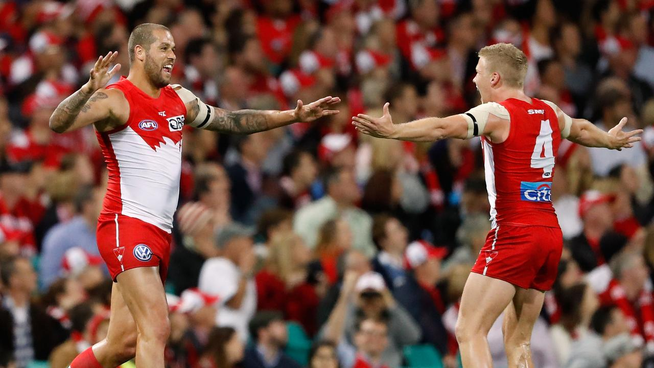 The Swans have denied Thomas' claims. Photo: Adam Trafford/AFL Media/Getty Images