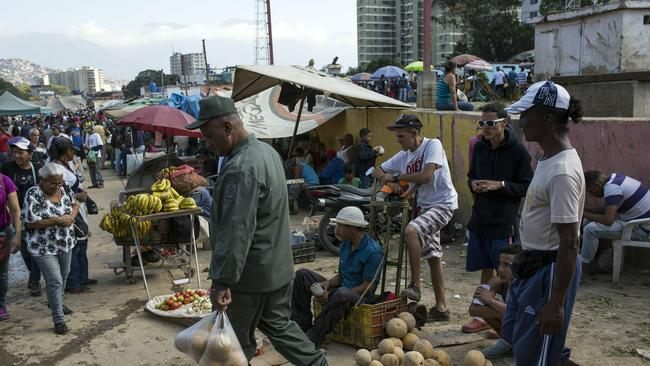 Millions of Venezuelans have been forced to starve or flee. Picture: AP Photo/Rodrigo Abd