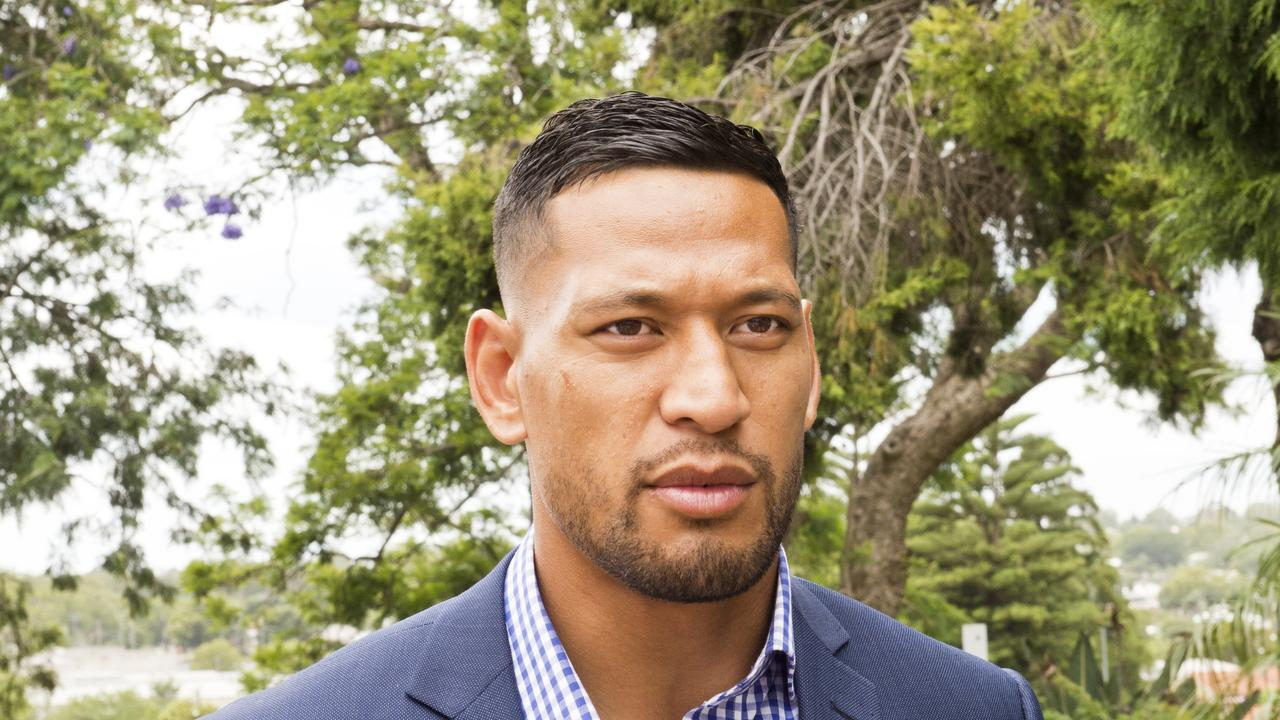 Former Australian rugby star Israel Folau is now a free sport agent.