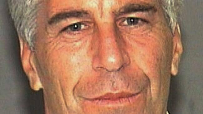 Jeffrey Epstein's mugshot taken in 2006 by Florida police. This weekend it was revealed he faces new sex-trafficking charges. Picture: AP