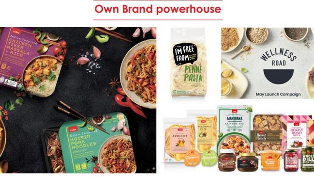 Coles wants to be an own brand powerhouse.