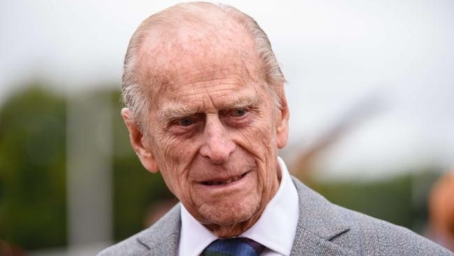 Fair call ... Abbott was criticised for handing Queen Elizabeth II's husband Prince Philip a knighthood. Picture: AFP/ LEON NEAL