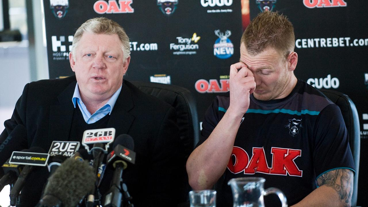 Phil Gould and Luke Lewis.