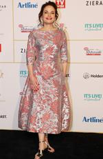 Logies Red Carpet 2018. Sigrid Thornton. Picture: NIGEL HALLETT
