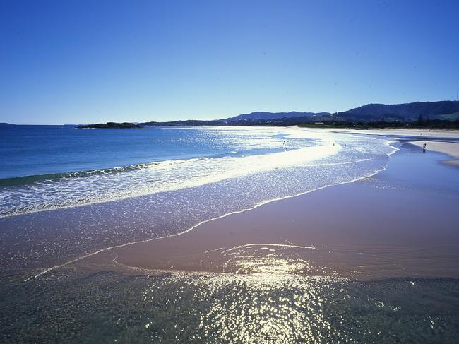 In the beachside town of Coffs Harbour, Rachael found relief partying in the sand dunes. Source: Newscorp Australia