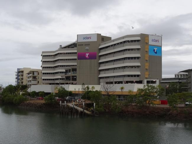 Adani's headquarters in Townsville.