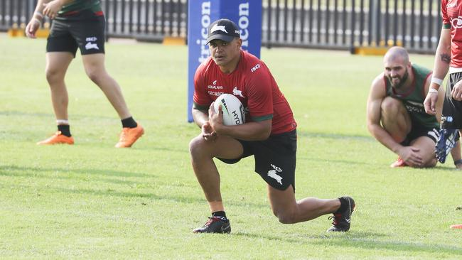 Latrell Mitchell will switch from centre to fullback at the Rabbitohs.