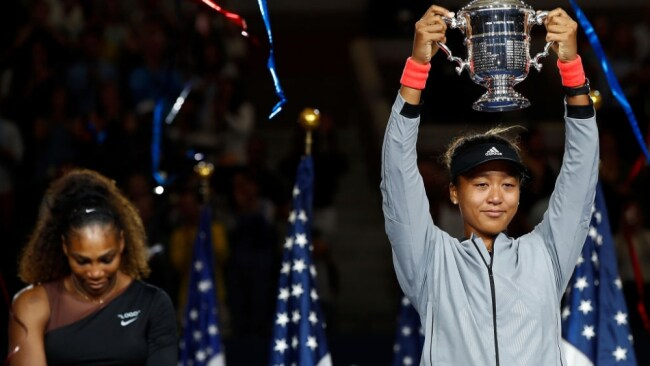Naomi Osaka is the 2018 US Open tennis singles champion. Image: Julian Finney / Staff / Getty
