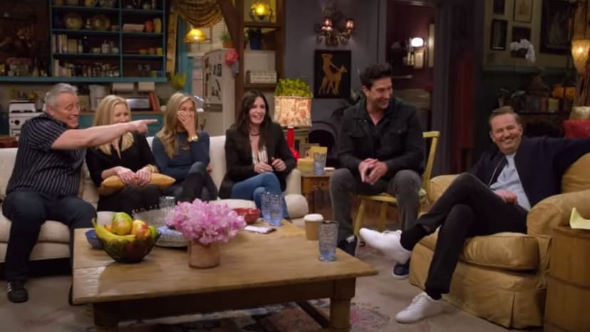The gang is back together. Picture: HBO Max/Youtube