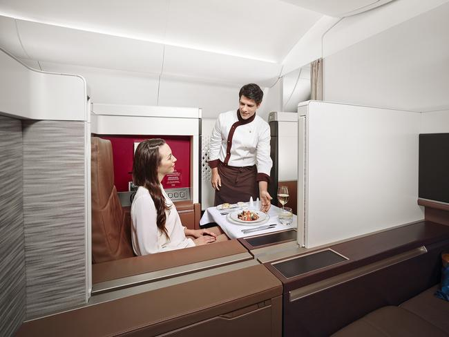 Etihad Airways' first class suite was named best in the business.