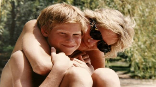 Prince Harry has previously opened up about his struggles with mental health dealing with the death of his mother Diana. Photo: The Duke Of Cambridge And Prince Harry