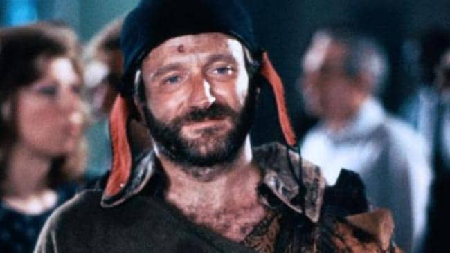 Robin Williams in The Fisher King.