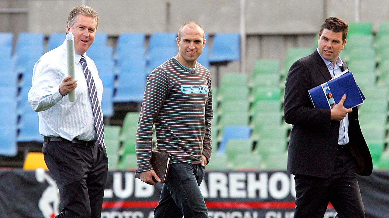 Chris Judd joined Carlton.