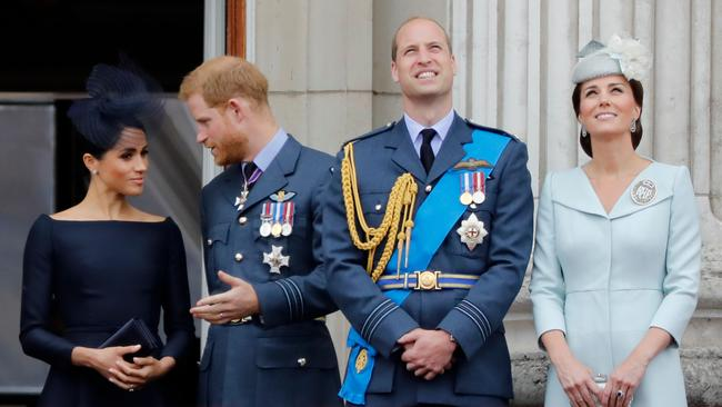 Prince William is sad that his brother won't be a big part of his life anymore. Picture: Tolga AKMEN / AFP