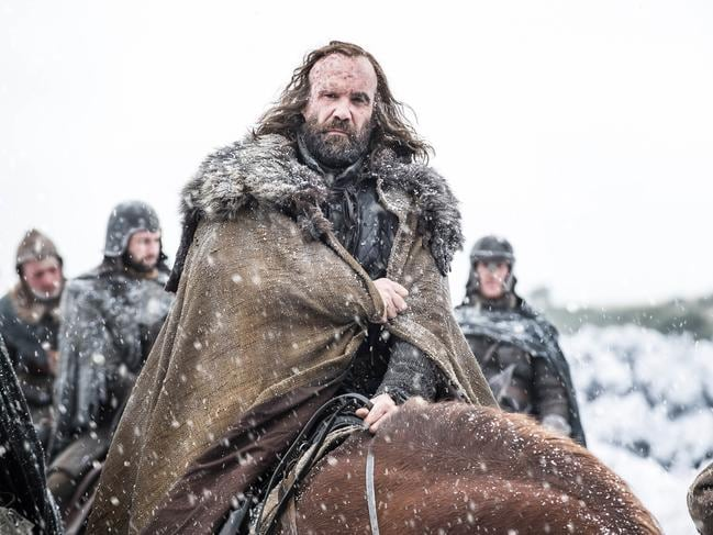 Game of Thrones final season, and star Rory McCann.