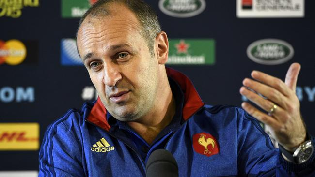 France's head coach Philippe Saint-Andre.