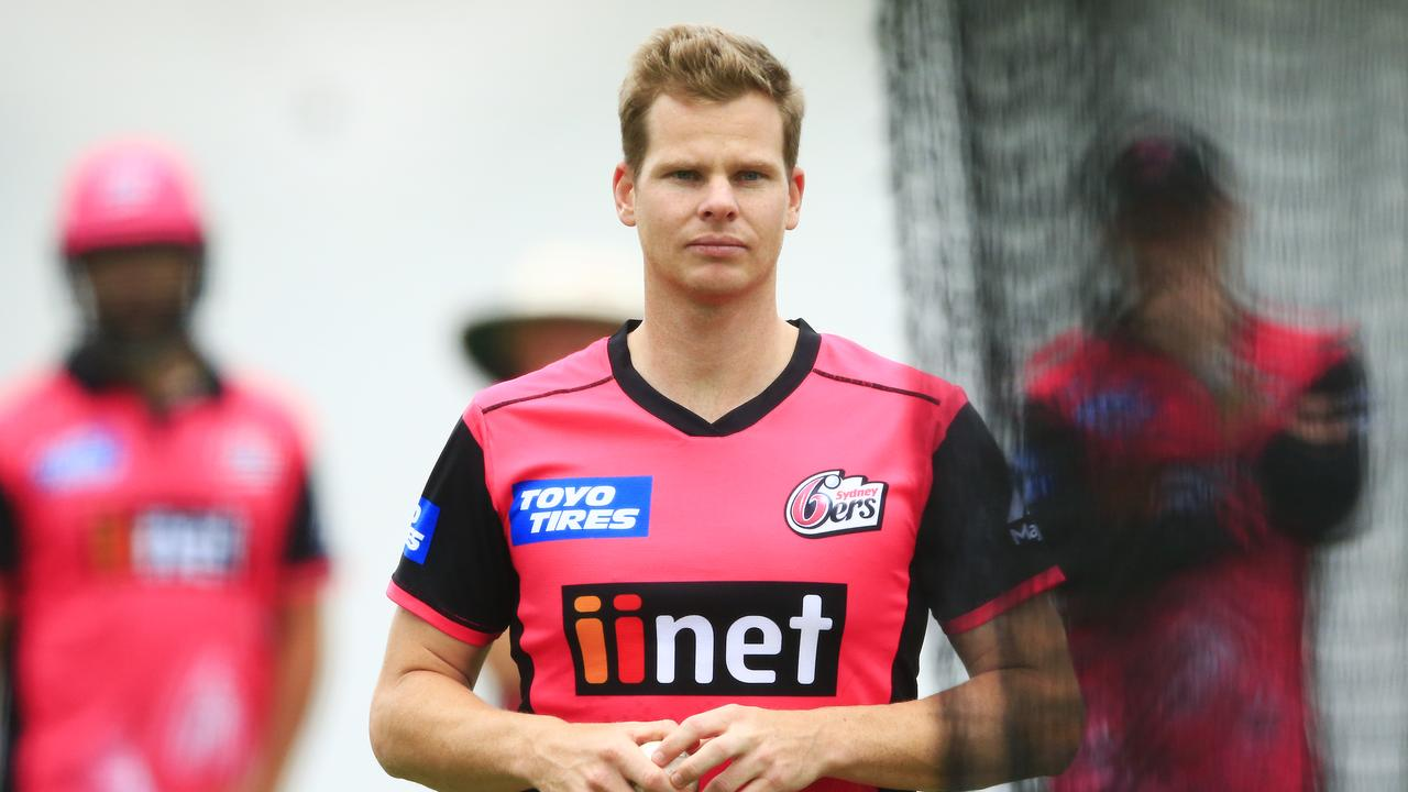 Steve Smith at Sydney Sixers training in 2018. Photo  Mark Evans Getty  Images 113f207ac1