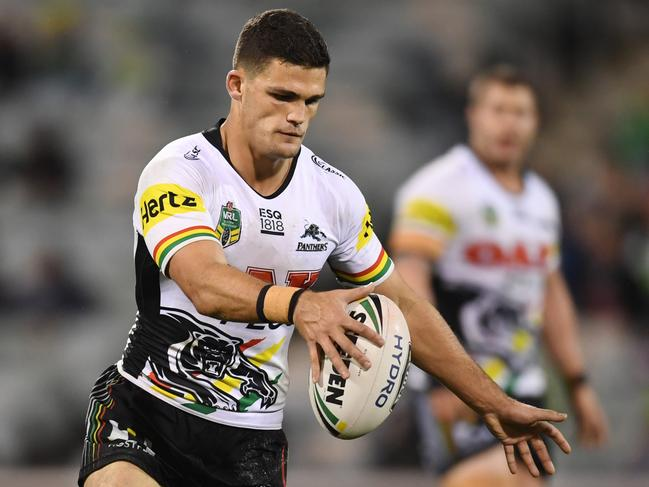 Nathan Cleary is poised to kick on for the Panthers. Picture: AAP