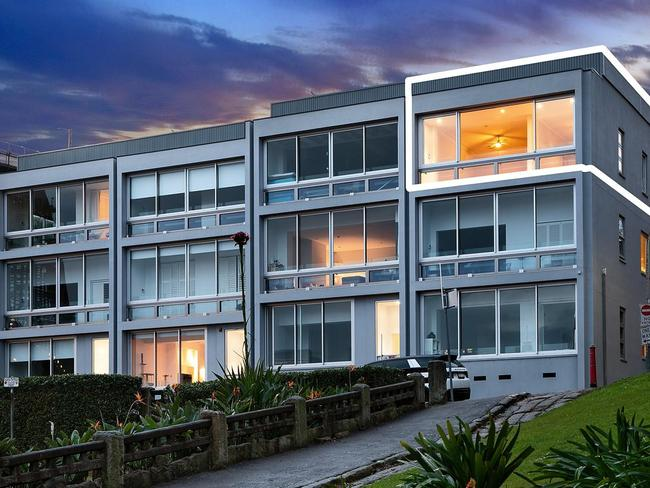 The apartment is located in a recently refurbished unit complex.