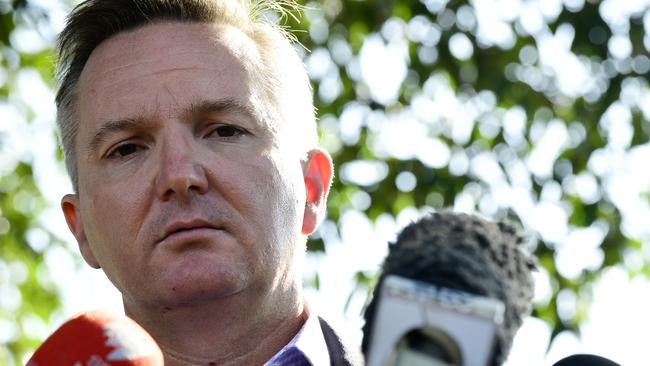 Shadow Treasurer Chris Bowen is the only other contender for Labor's top spot.
