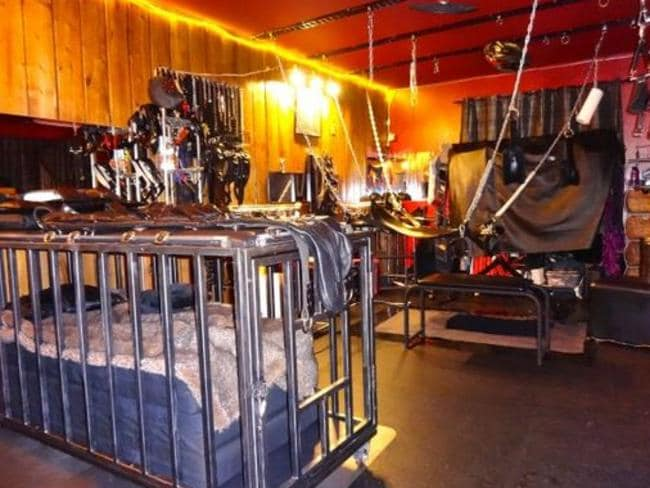 """'Lascivious Lair' ... this """"beautifully equipped modern play space"""" is available in San Francisco. Picture: www.kinkbnb.com"""