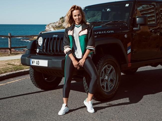 Pip Edwards is the new face of Jeep Australia.