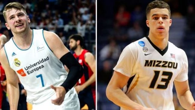 Luka Doncic and Michael Porter Jr. start some rookie beef.
