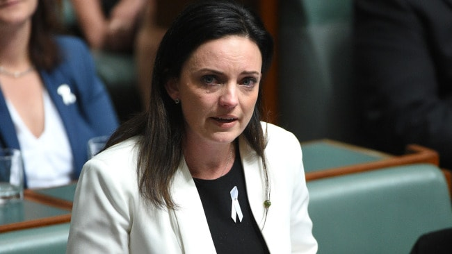 Emma Husar says she loves her job. Picture: Mick Tsikas Source: AAP Image